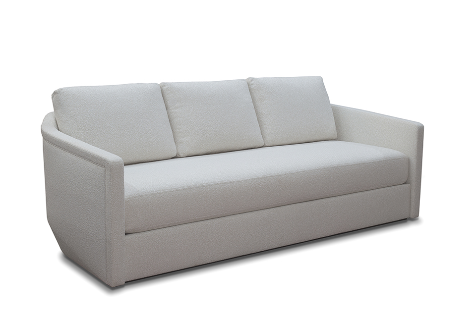 Couch from front left angle
