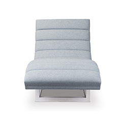 Isabella Channel Tufted Chaise